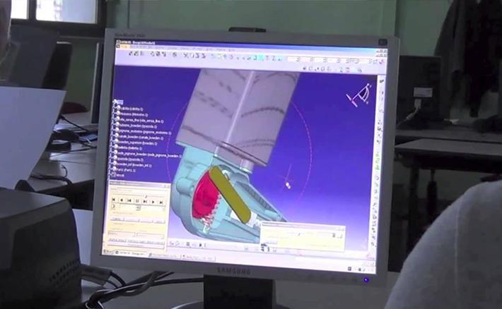progettazione di stampi per pressofusione